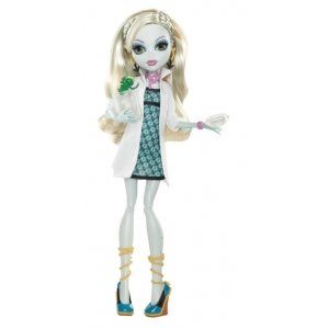 Кукла MONSTER HIGH В классе - Лагуна Блю (без шкафчика)