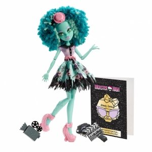 Кукла MONSTER HIGH Страх! Камера! Мотор! - Хани Свамп