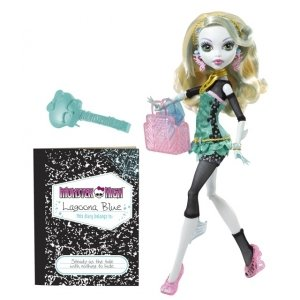 Кукла MONSTER HIGH Выпускной  - Лагуна Блю  базовая