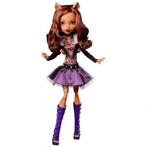 Кукла MONSTER HIGH Страшно-огромные (42 см) - Клодин Вульф