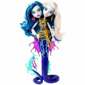 Кукла MONSTER HIGH Большой Скарьерный Риф - Пери и Перл Серпентайн