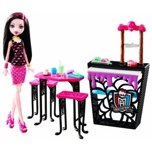 Игровой набор MONSTER HIGH - Кафе с Дракулаурой