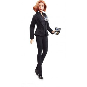 Кукла Barbie The X-Files Agent Dana Scully Doll - Агент Дана Скалли