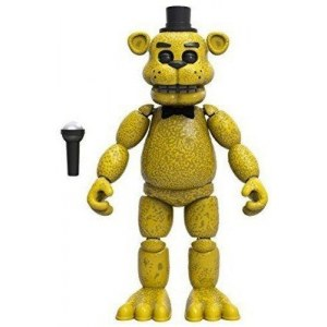 Фредди золотой (14 см) - Funko Five Nights at Freddy's Articulated Golden Freddy Action Figure