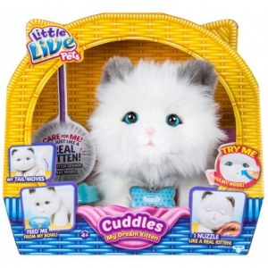 Интерактивная игрушка Moose Little Live Pets - My Dream Kitten Cuddles