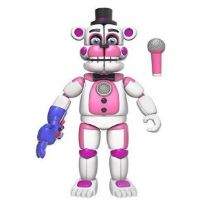 Фредди Веселый (14 см) - Funko Five Nights at Freddy's Funtime Freddy Articulated Action Figure, 5